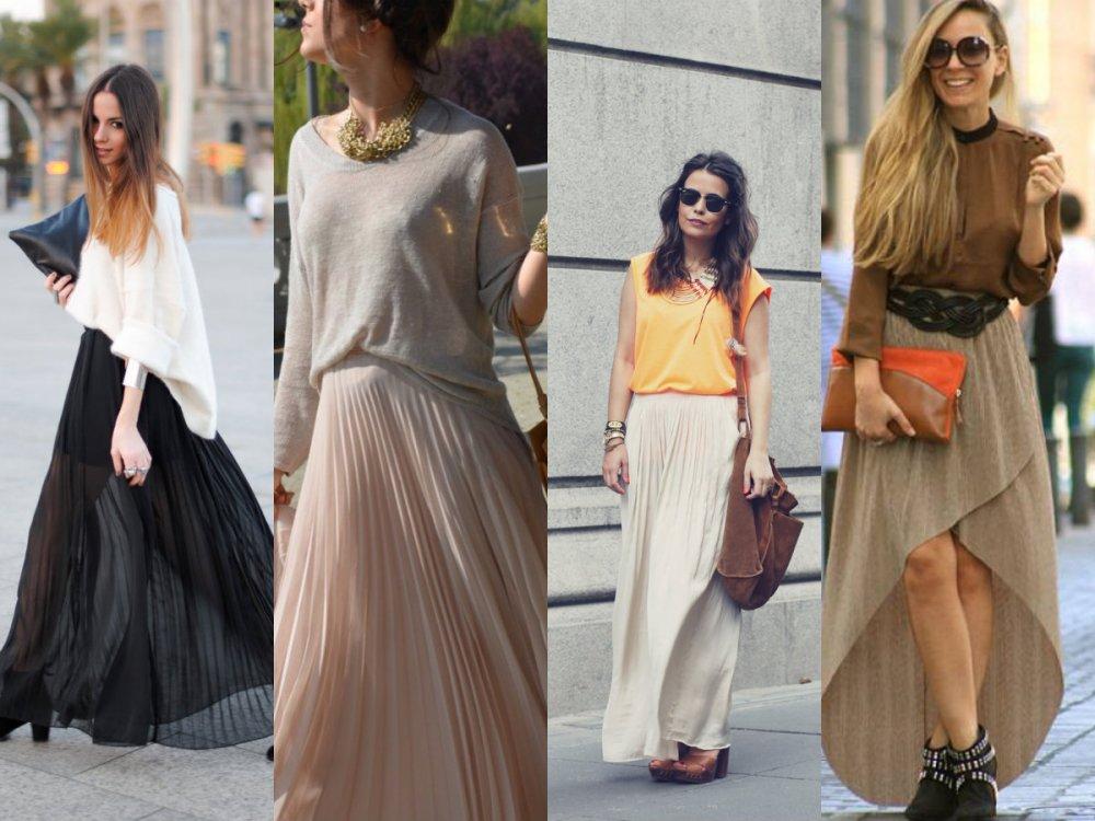 collage faldas