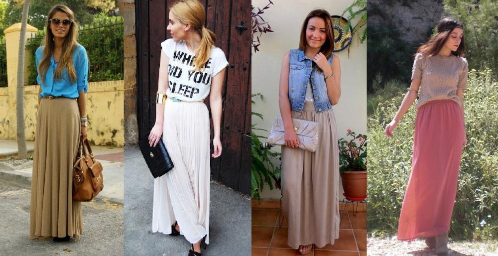 Outfits Falda larga 1